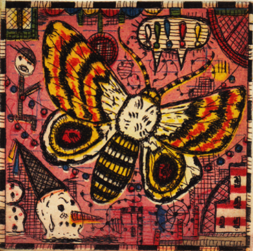 The Atlantic City Moth by Tony Fitzpatrick
