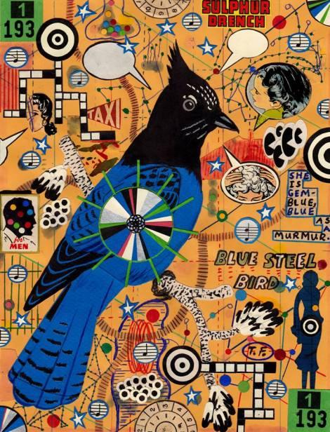 Blue Steel Bird