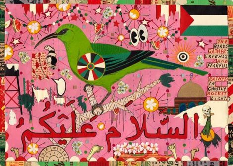 Bird for Palestine